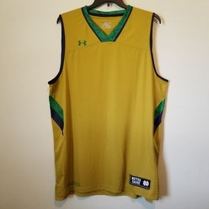 Under Armour Notre Dame loose fit muscle tank
